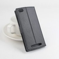 For Leagoo PU Black Hot Selling Luxury wallet Painted Leather Case For Leagoo Lead 7 Mobile Phone Cases Cover With Card Slot