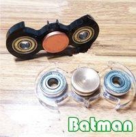 Yiwu Toy batman hand - Batman Fidget Spinner Hand Finger Anti Stress EDC and Spinner Focus Toy finger HandSpinner top decompression toy KKA1365