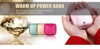 best handicrafts - Decorative Handicrafts Mint Best Power Bank For Winter rechargable warmer lover gift Latest New Champagne Best Portable Power Bank For