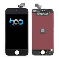 Wholesale Grad AAA Quality Touch Screen Digitizer Replacement Black White For Apple iphone S C lcd