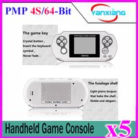 5pcs Classic PMP4S Portable Video Game Player Construit en 400 Jeux, Support Arcade Jeux + GBA + SEGA + SFC / NES Jeux Enfants Cadeaux YX-PMP4S