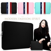 apple laptop notebook - Macbook Sleeve Inch Inch Laptop Sleeve Air Pro Retina Display quot iPad Soft Case Cover Bag for Apple Samsung Notebook