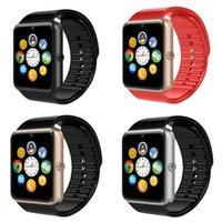 Bluetooth Smartwatch GT08 Smart Watch pour iPhone 6 / 5S Samsung S4 / Note3 Téléphone Android HTC Smartphones Android Wear VS U8 DZ09