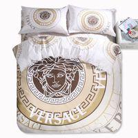 Wholesale Hot sale Home Textile New style Reactive Printing bedding duvet cover Bedding sheet bedspread pillowcase set D Bedding Sets king size