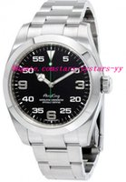 air wrist watch - Top Quality Luxury Watches Air King Black Dial Stainless Steel Men s Watch Mens Watch Wrist Watches