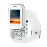 Bon Marché Quad lcd-1.44 pouces Ecran LCD Kenxinda W1 Slider Clavier 2in1 Montre Smart Watch et Téléphone 2G GSM Quad Band Unlocked Bluetooth 3.0 1.2MP Camera