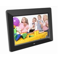 Wholesale 10 quot HD TFT LCD Digital Photo Frame Built in two w stereo speakers with Remote Black White