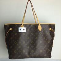 Wholesale Hot Sale Famous Brand NF MM GM Handbag Genuine Leather Shoulder bag Real Leather Damier ebene canvas L Handbag Purse M40995 M41178 Bags
