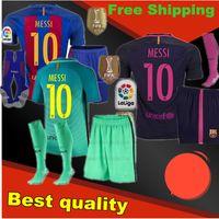 barcelona shirt messi - Barcelona jersey kit adult jerseys shirts MESSI NEYMAR SUAREZ PIQUE ET