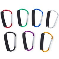 Wholesale High Quality Multifuctional Metal Pram Hook Baby Stroller Hooks Shopping Bag Hanger Stroller Accessories for Baby Car
