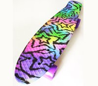 Wholesale Rocket Board Professional Complete Mini Cruiser Skateboard Fantastic Birthday Back to School Gift for teenagers color intrigue