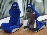 Wholesale One Adjustable Series Racing Seats SPS Purple FRP High Style Fiberglass Frame Black Red Blue Alcantara Suede Cloth