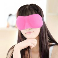 Wholesale Travel Sleep Rest D Sponge EyeShade Sleeping Eye Mask Cover Patch Blinder for health care