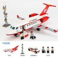 air bus models - 334 Airplane Toy Air Bus Model Airplane Building Blocks Sets Model DIY Bricks Classic Boys Toys Compatible