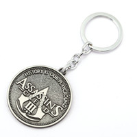 assassin pc - 10 Assassin s Creed Key Chain Assassins Creed Key Rings For Gift Chaveiro Car Keychain Jewelry Game Key Holder Souvenir