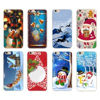 apple theme pc - PC mobile caseChristmas Theme Santa Claus Transparent Clear hard Plastic cover case For Iphone S SE S Plus PLUS galaxy s6 s7 edge