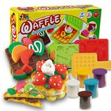 Wholesale Color Clay Dough set Funny Children waffle Toys Free Tools and Accessories For Kid the best gift for children Middle