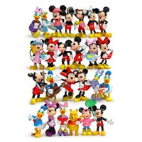 Wholesale Free DHL Christmas gift MICKEY Minnie Donald Duck Cartoon Action Figure Childre s Toy cm