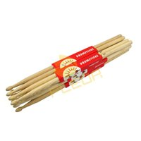 Wholesale NEW Pairs Hickory Wood Drumsticks Drum Sticks A Sticks Fit for All Drums