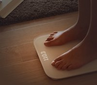 Wholesale 100 Original Xiaomi Bluetooth Digital Weight Smart Scale Toughened Glass Electronic Weight Scale DHL