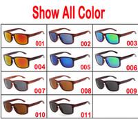 achat en gros de lunettes de soleil de bambou à la main-2017 Nouveaux produits de mode Hommes Femmes Verre Lunettes de soleil en bambou Rétro Vintage Bois lentille Cadre en bois fait main
