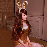 venda por atacado inflatable silicone doll-Lifelike Silicone Sex Dolls Esqueleto Japonês Love Doll Menina artificial para Sexo Realista Vagina Anal boneca inflável FC0022 salebags