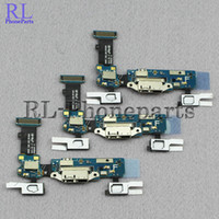 Wholesale 10pcs Sensor Keyboard with Micr For Samsung Galaxy S5 I9600 G900F G900H G900M USB Charger Dock Charging Port Connector Flex cable ribbon