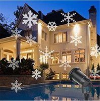 Wholesale LED Projector Moving Snowflake Projector Light Dynamic Landscape Projector Lamp Party Light for Christmas Holiday Garden Decoration