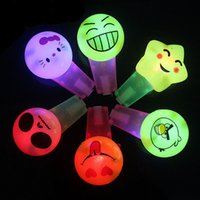 attention light - Christmas Classic Noise Maker LED Light Up Cartoon Whistle Flashing Attention Blinking Colors Party Favor Cheer Items New Year