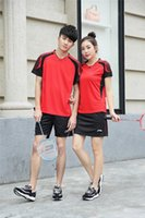 Wholesale Tennis Li Ning Badminton Jersey Set Table Tennis Men Women Shirts And Short Ping Pong Shorts