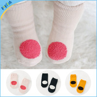 baby grip socks - Baby Infant Spring Autumn Small Cotton Non Skid Kids Socks Fancy Booties year Baby Socks Grip