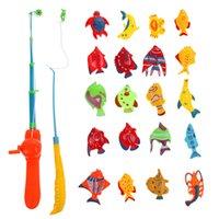 Wholesale Hot Sale Fish Kids Magnetic Magnet Fishing Kid Children Eearly Educational Toy