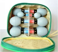 acupuncture tcm - 12 Cups household Vacuum Haci Magnetic Therapy Acupressure Suction Cup TCM acupuncture and moxibustion Cupping Set Health Care