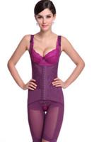 Wholesale Long Leg Body Briefer Magnet Shapewear Women Slim Shaper Slimming Plus Size Body Suit Slimming Body Shaper