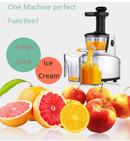 Wholesale 2016 New Healthy Juice Maker Slow Juicer W Fruits Vegetables Low Speed Slowly Juice Extractor Juicers Fruit Drinking Machine