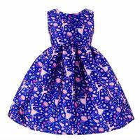 ballet costums - Kseniya Kids Ballet Girl Print Dress New Year Kids Party Frocks Child Costums Years Alg2116