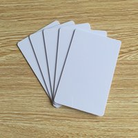 access cost - mhz blank white ISO A k hotel key access control low cost rfid card rfid smart card rfid card