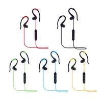 Wireless bi directional - In ear stereo Bluetooth headset BT bi directional stereo wireless headset sports Bluetooth headset