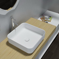 Wholesale Bathroom Furniture Acrylic Resin Stone Solid Surface Stone Table Top Counter Top Basin PB2120