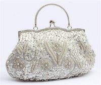 Precio de Señoras monederos moldeado-Venta al por mayor-lujoso de calidad nupcial monedero Banquete Día embrague mujeres bolso de mano mujeres bolsas señoras lleno completo de cuentas mujeres embrague 70t