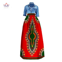 Java Style african skirts - Long Maxi Skirts for Women African Clothing Pencil Skirt Private Custom High Waist Skirt Unique Original Long Maxi Skirts