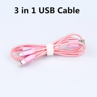 aluminium c - Lamchin Loly USB Cable M FT in Micro USB Data Charging Cable Nylon Braided Aluminium Alloy for IPHONE Type C Android