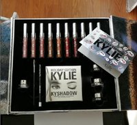 Wholesale 2017 Hot Kylie Holiday Edition Kit Kylie Holiday Edition box kyshadow Kylie jenner lip fast shipping