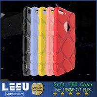 apple pudding - New Christm soft TPU phone case for iphone plus case Ultrathin transparent Pudding colorful back cover hot selling opp bag