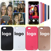 bank flash - For iphone plus Selfie Case LED Light Flash phone Case Self Cover Funda without power bank For iPhone s plus s SE S6 S7 EDGE PLUS