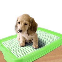 Wholesale Indoor Pet Toilet Dog Restroom Training with Tray Puppy Pad Pet Training Toilet