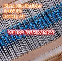 Wholesale k ohm W k Metal Film Resistor kohm W ROHS
