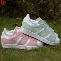 achat en gros de zapatillas courir les femmes-Hot Sale Suede Femmes Casual Shoes Running Shoes Superstar Femmes Sneakers Femmes Zapatillas Deportivas Mujer Lovers Sapatos Femininos