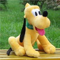 8-11 Years Cats/Mice/Dogs Plush Hot 45cm Kawaii Pluto Plush Toys Goofy Dog Mickey Mouse Minnie Donald Daisy Duck Friend Pluto Stuffed Toys Kids Gift