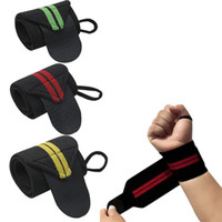 Wholesale 1 piece Weight Lifting Strap Fitness Gym Sport Wrist Wrap Bandage Hand Support Wristband
